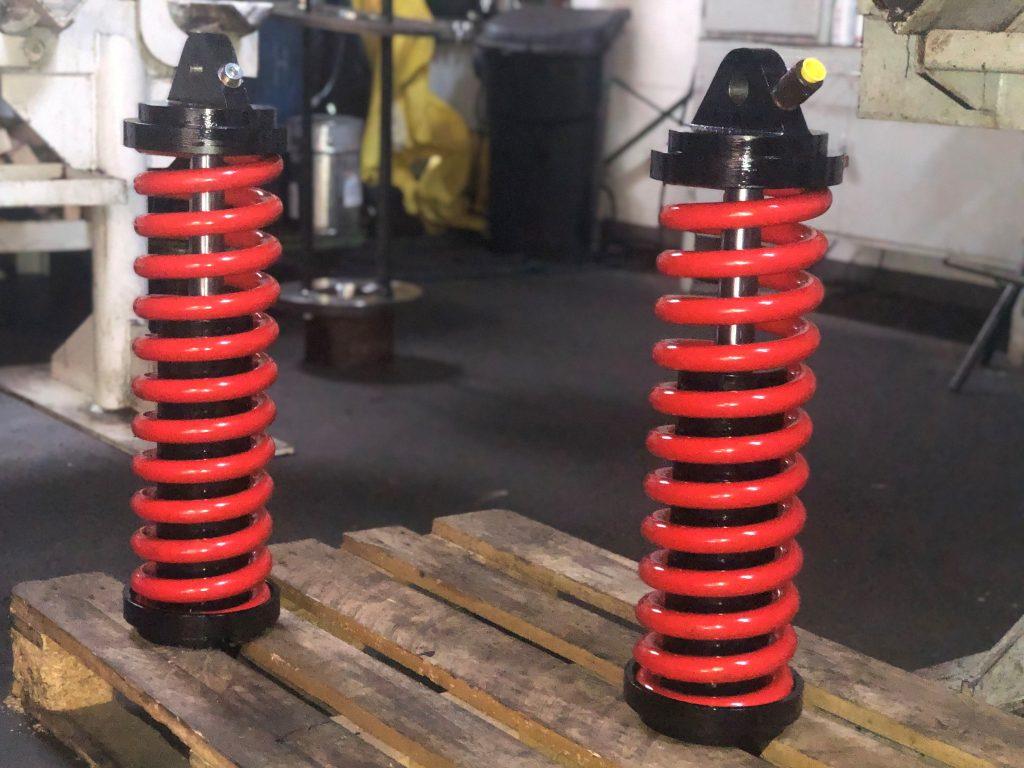 Neubau von Bremszylindern für Einschienenhängebahnen